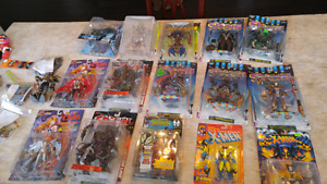 Action figure and toys collection