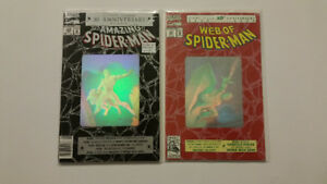 Spider-Man Hologram Covers issue #365, 90, 189, 26, 50