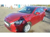 Mazda 2 SE-L NAV 2016 (16 PLATE) Damaged Repairable Salvage