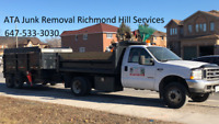 Junk & garbage Removal Richmond Hill Services