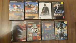 Selling PS2 GAMES for a Twoonie