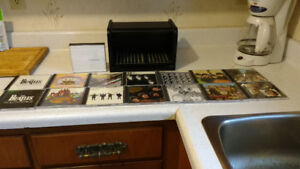 THE BEATLES CD WOODEN BOX SET REALLY NICE 15 CDS