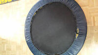 kids trampoline and toys