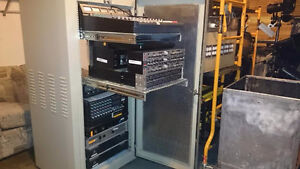 Faraday server cage and rack