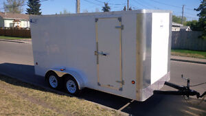 2016 Royal 7x14 Ramp Door enclosed trailer BRAND NEW NEVER USED