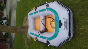 4 person Coleman Raft