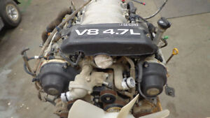 Used Toyota 4.7L V8 Engine and Trans from 2004 Tundra 4X4 Pickup