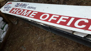 large outdoor sign for sale