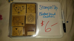 stampin' up - stamp sets assorted