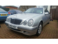 Mercedes-Benz E320 3.2TD auto 2001 CDI Elegance PX Swap Anything considered