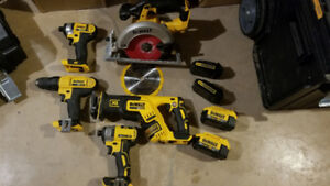 Dewalt 20v power tools