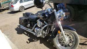 Two 2005 vulcans 1500cc 800cc  trade for Harley D