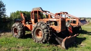240 timberjack cable skidders