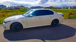 Mint condition white BMW with M package