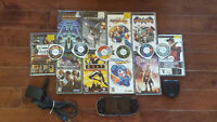 PSP bundle with 14 games and 2 movies MINT