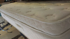 queen mattress and box spring (sold)