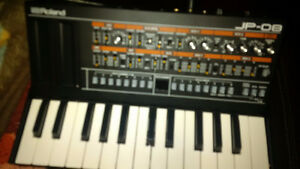 Roland Boutique JP08 and controller keyboard