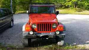 2005  Jeep Wrangler, Rubicon. Perfect for summer!