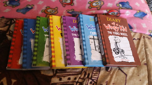 Diary of a Wimpy Kid books 1-7