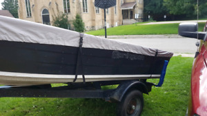 14 foot spring bok with or with out trailer