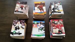 1989-1990 Pro Set random Hockey Cards