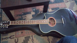 Yamaha APX acoustic\electric 12 string guitar