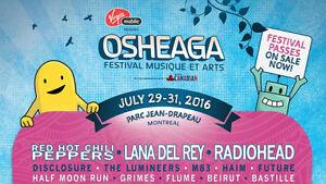 OSHEAGA 2016 PASSES - VERY NEGOTIABLE