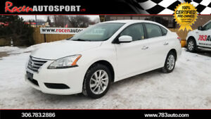 CERTIFIED 2015 SENTRA SV 51K -REM START/WINTER WHEELS - YORKTON