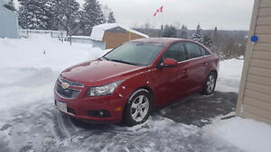 2012 Chevrolet Cruze LT ONLY 92 KMS!