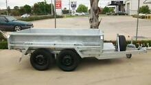 9 x 5 450mm Sides Galvanised Hydraulic Tandem Tipper 1990Kg GVM Epsom Bendigo City Preview