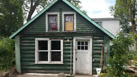 Detached House made of Logs in Sturgeon Falls Handyman Charm