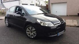 2008 08 CITROEN C4 1.6 HDi 16V VTR+.VERY NICE LOW MILEAGE EXAMPLE & F/S/H.3 KEYS