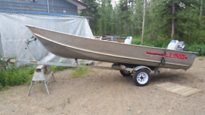 Boat, Motor, Trailer