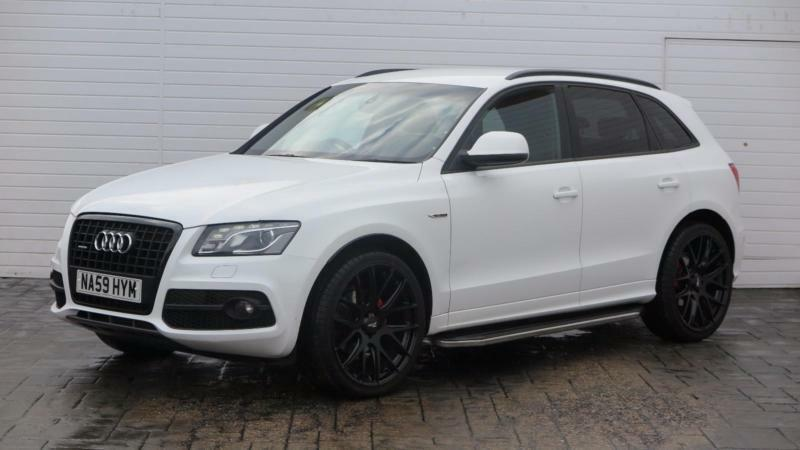 2009 audi q5 2009 59 audi q5 2 0 tdi s line quattro black. Black Bedroom Furniture Sets. Home Design Ideas