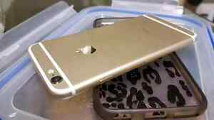 Gold iPhone 6 good condition