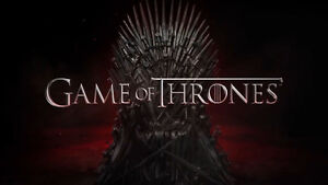 GAME OF THRONES - EXCELLENT LOWER LEVEL TICKETS - BELL - MAR 3