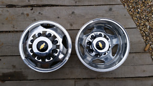 2015 Chevy take off dually rims