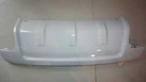 2018 Land Rover White OEM Rear Bumper Tow Hook Cover
