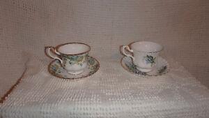 Royal Albert Fine Bone China Tea Cups / Tasses de thé porcelaine