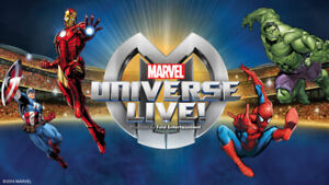 ***GREAT SEATS, GREAT PRICE***  Marvel Universe Live! - Thursday