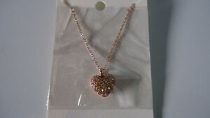 Fossil Jewelry Set-Earrings, Necklace & Bracelet–NEW SEALED PACK