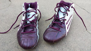 Adidas Scorch Mens Leather Footbal cleats Sz 10.5 to 11