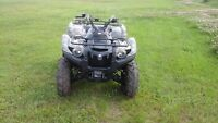 2015 Yamaha 700 Grizzly 4X4's @ MPD Motorsports in Melfort