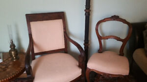 chaise+fauteuil style Louis XV