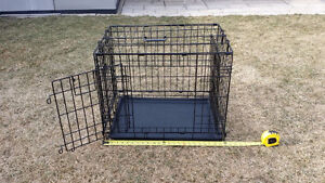 Small Dog Cage Travel Crate Portable Little Home Metal Foldable