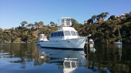 "45' Jarrah Plank Cruiser. ""San Pasquale"" Willetton Canning Area Preview"