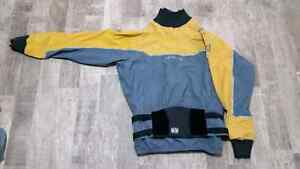 Two pieces drysuit in like new conditions