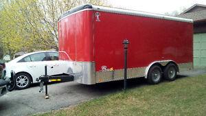 16 X 8 Enclosed Cargo trailer