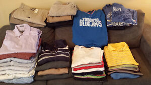 Huge lot of men's clothes size XL, 2XL and 40x32