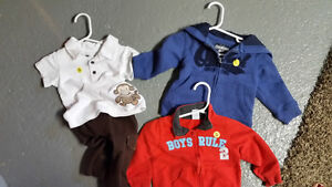 Boys Clothes from 3 to 24 mths